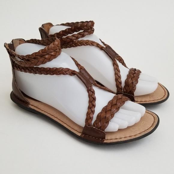 56aa65ab280 b.o.c. Shoes - b.o.c. Born Concept Macedonia Braided Gladiator